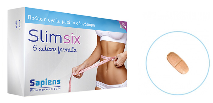 A scientific weight management/slimming and health formula. Slim six takes care firstly about your health, and then about slimming.