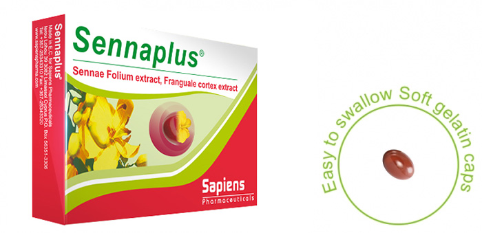 Sennaplus is the safe answer to the constipation and helps you start your day lightly.